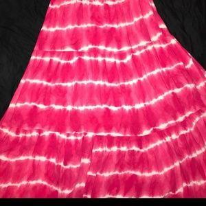 Aeropostale Dresses - Aeropostale tie-dye maxi dress